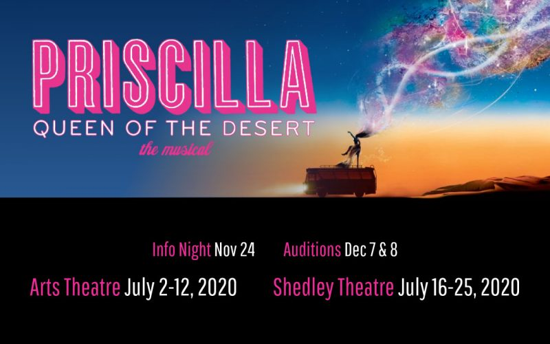 Priscilla Queen of the Desert The Musical, Adelaide July 2020